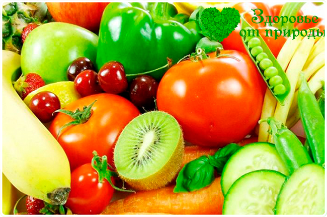 фруктово овощная диета